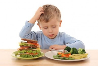 How to raise healthy eaters.