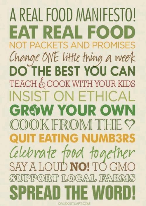 Food-manifesto