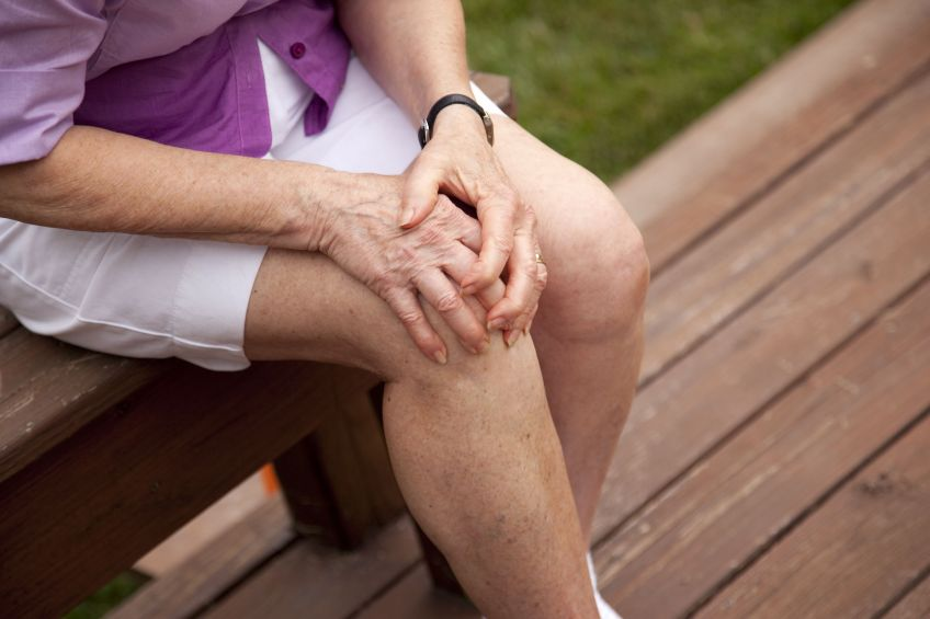knee stress