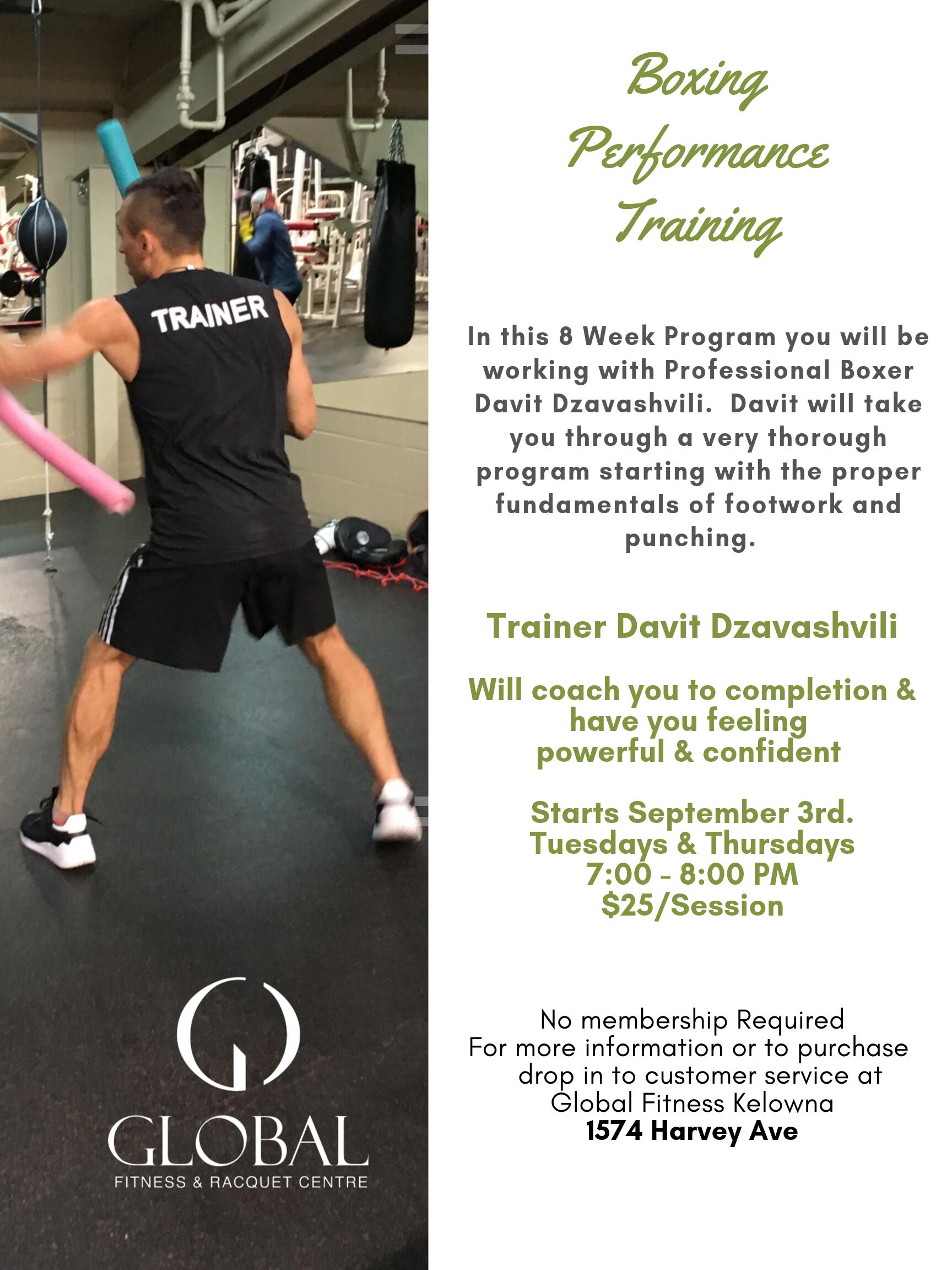 Project Body Smart | 8 Week Boxing Program