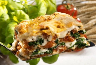 veggie lasagna ingredients